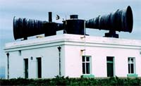 Foghorn on Flat Holm Island